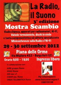 La Radio, il Suono 3° edizione