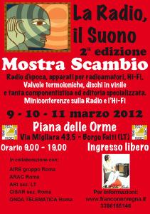 La radio, il Suono 2° edizione (8)