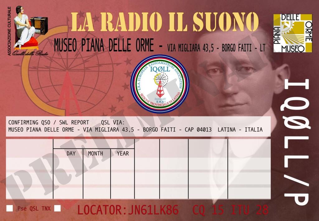 QSL LA RADIO IL SUONO PRELIMINARY3 web